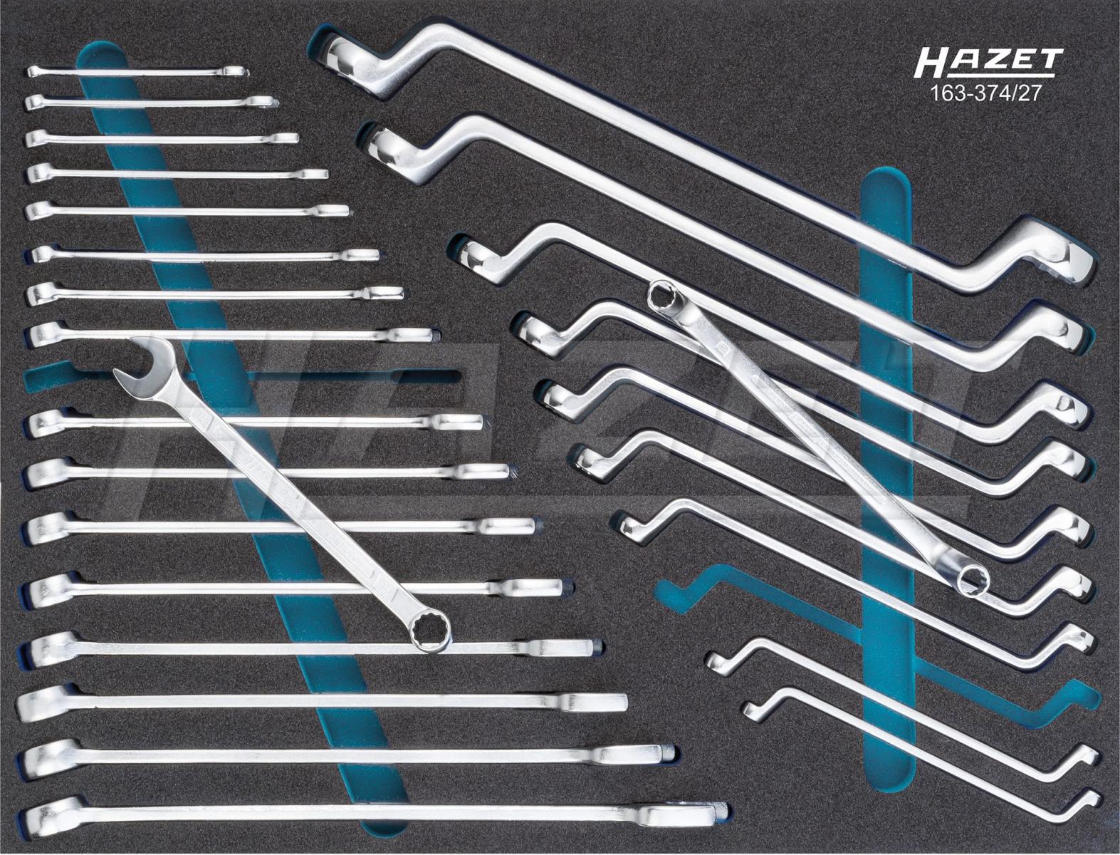 Tủ đồ nghề 7 ngăn 157 chi tiết Hazet 179-7-RAL7016/157