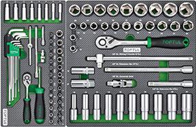 Tủ đồ nghề sửa chữa 7 ngăn 261 chi tiết Toptul GE-26117