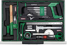 Tủ đồ nghề sửa chữa 7 ngăn 320pcs Toptul GT-32018