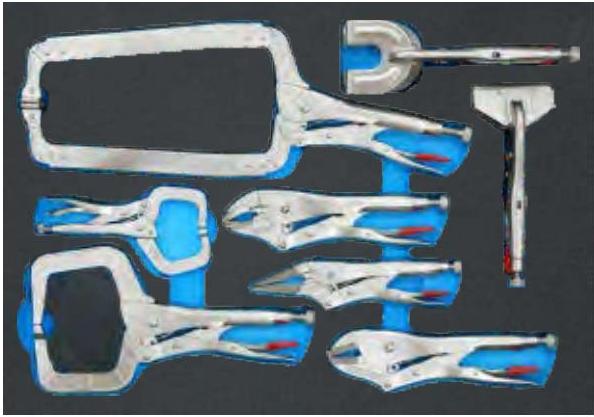 Tủ đồ nghề sửa chữa 7 ngăn 38pcs TDC38000
