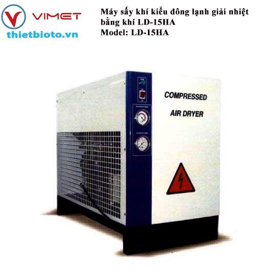 Máy sấy khí kiểu đông lạnh giải nhiệt bằng khí LD-15HA