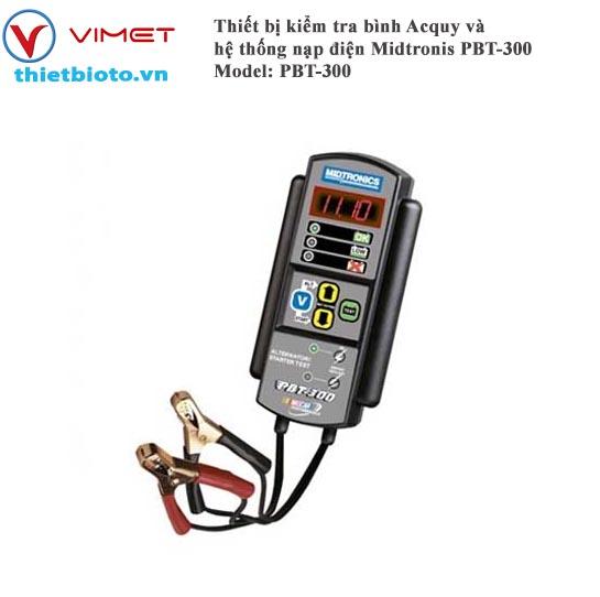 Thiết bị kiểm tra bình Acquy và hệ thống nạp điện Midtronis PBT-300