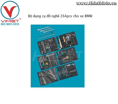 Bộ dụng cụ đồ nghề 264pcs cho xe BMW