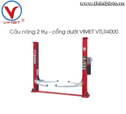Cầu nâng 2 trụ cáp dưới VIMET VTLR4000