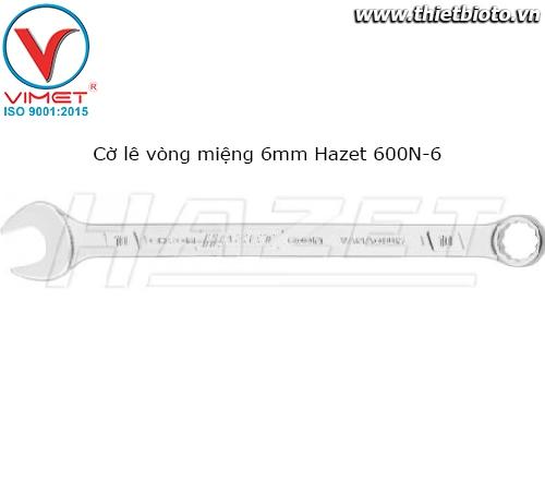 Cờ lê vòng miệng 6mm Hazet 600N-6