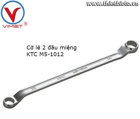 Cờ lê 2 đầu miệng 10x12mm KTC M5-1012