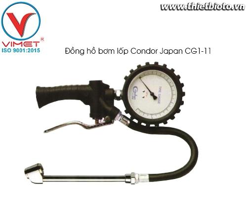 Đồng hồ bơm lốp Condor CG1-11
