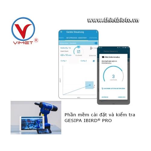 Phần mềm cài đặt và kiểm tra súng rive IBIRD® PRO