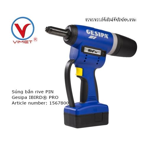 Súng rút rive bằng Pin IBIRD® PRO