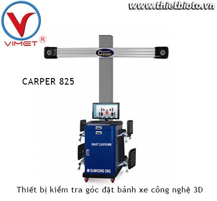 Thiết bị kiểm tra góc đặt bánh xe công nghệ 3D Samhong SMART CARPER 825
