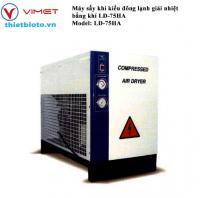 Máy sấy khí kiểu đông lạnh giải nhiệt bằng khí LD-75HA