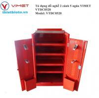 Tủ đựng đồ nghề 2 cánh 5 ngăn VIMET VTDC0520