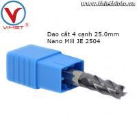 Dao cắt 4 cạnh Nano Mill JE 2504