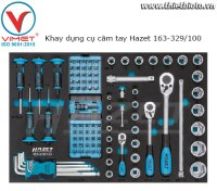 Khay dụng cụ cầm tay Hazet 163-329/100