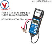 Thiết bị kiểm tra hệ thống điện và bình ắc quy Midtronics MDX-670P