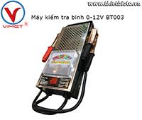 Máy kiểm tra bình 0-12V BT003