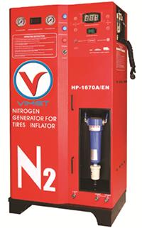Máy bơm và tạo khí Nitơ cho lốp xe VM-1670A/EN