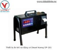 Thiết bị đo khí xả động cơ Diezel Koeng OP-201