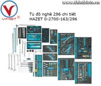Tủ dụng cụ 296 chi tiết Hazet 0-2700-163/296