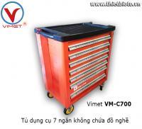 Tủ dụng cụ 7 ngăn không chứa đồ nghề Vimet VM-C700