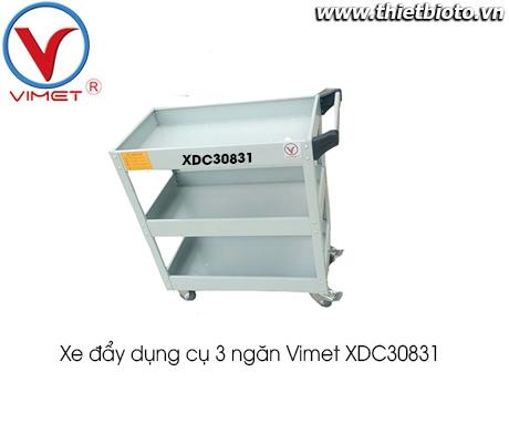 Xe đẩy dụng cụ 3 ngăn không ngăn kéoVimet XDC30831